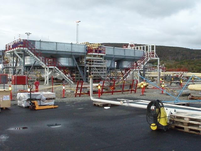 Loop Gas Coolers, Kårstø Gas Processing Terminal, Norway