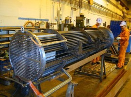 Shell & Tube Heat Exchangers, Veslefrikk, North Sea
