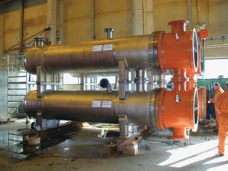 Shell & Tube Heat Exchangers, Veslefrikk, North Sea