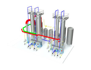 Waste heat evaporator