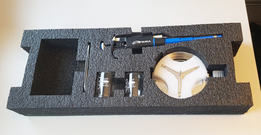 Equipment for measuring total solids (TS%) in product