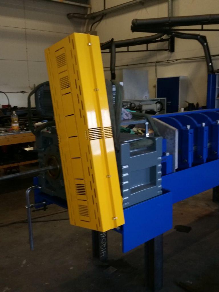 AMOF-Fjell screw press