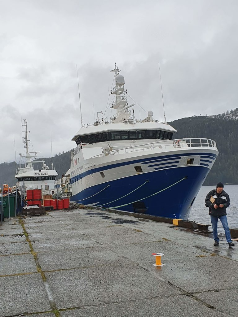Trawler Sunderoey